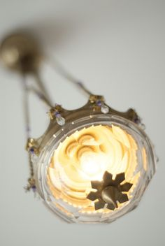 Crystal Antique Lamp