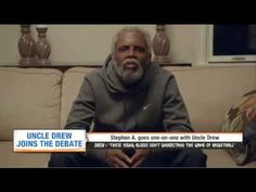Uncle Drew interview with Stephen A. Basketball Videos, Espn, Interview, Draw, Fictional Characters, To Draw, Sketches, Painting, Fantasy Characters