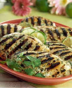 Grilled Chicken with Spicy Ginger Marinade http://wm13.walmart.com/Cook/Recipes/22085