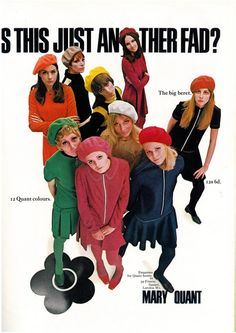 Mary Quant Advert 1967