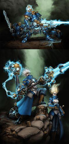 Cygnar: Storm Infantry by *Mr--Jack