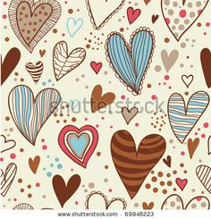 stock vector : Romantic vintage seamless pattern