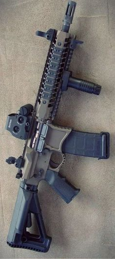 Build Your Sick Custom Assault Rifle Firearm With This Web Interactive Firearm Gun Builder with ALL the Industry Parts - See it yourself before you buy any parts Military Gear, Military Weapons, Weapons Guns, Guns And Ammo, Zombie Weapons, Armas Ninja, Ar 15 Builds, Ar Pistol, Custom Guns