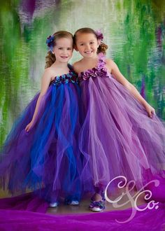 Purple pearl flower girl tutu dress, That would make the cutest flower girl dress...whatever color you wanted :)