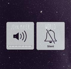 John Mayer on World off                                                                                                                                                                                 Mais