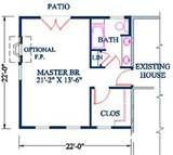 Image detail for -Master Suite Addition for existing home, Bedroom, Prices, Plans