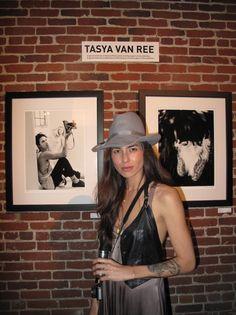 Tasya Van Ree.... I was at this gallery opening!! Love her work!