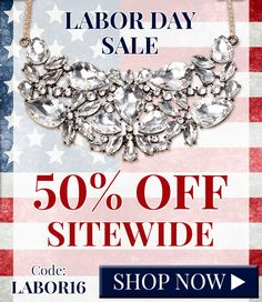 50% off Labor Day Sa
