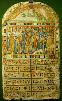 Stele The Book of the Dead