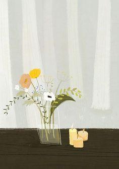 Plant Illustration, Cute Illustration, Botanical Illustration, Watercolor Illustration, Watercolor Art, Storyboard, Botanical Wall Art, Painting Lessons, Layout
