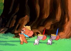 """Two Little Indians"" Tom and Jerry Nibbles/Tuffy"