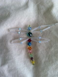 Updated Crystal Dragonfly Sun Catcher by Id & Ego Creations