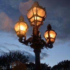 Even the street lamps look romantic. #Paris #VSHoliday