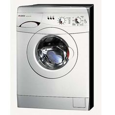 washer and dryer Combo-washes and then drys in on unit