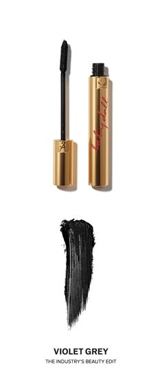 Yves St. Laurent Mascara Volume Effect Faux Cils Baby Doll Mascara, approved by the Violet Code   With one stroke, the brush and the mascara's patented formula magnifies eyes through the innovative structure of dual-length bristles and intense color pigments for defined volume that lasts for 24 hours.   #VioletGrey, the Industry's Beauty Edit