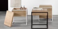 Universo Positivo Monolit Side Table ( Available in Various Options )