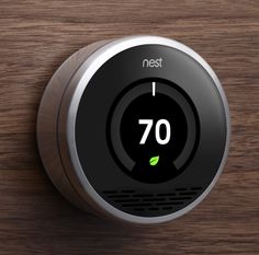 This intelligent hunk of steel looks great on a wall and, more important, helps save energy in the home. The Nest learns as you use it, ensuring your home is comfortable year-round.