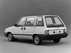 Nissan Prairie 1800 Extra JW-G (M10) '1982–88