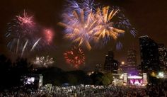 4th of July Celebrations in and around #Houston