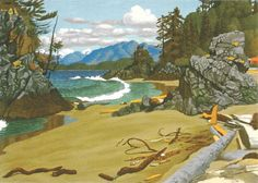 Purchase E. Hughes Art Cards in Multiples of 6 « E. Canadian Painters, Canadian Art, Arbutus Tree, Paintings I Love, Princess Mary, Home Art, Landscape Paintings, Art Cards, Giclee Print