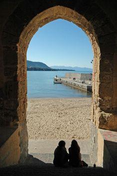 A window to the sea...Cefalu, Sicily