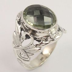 Fantastique 1.5 ct Sapphire STERLING 925 SILVER RING Taille 5-10