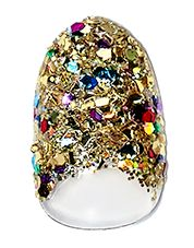 Bling Ring! $65 at Paintbox Nails, Lower East Side, New York NY.