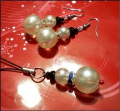 How To Make Christmas Jewelry – Snowman Earrings and Angel Ornament