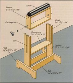 Adjustable support for woodworking machine. - Adjustable support for woodworking machine. Adjustable support for woodworking machine. Jig Router, Router Woodworking, Woodworking Workshop, Woodworking Techniques, Woodworking Projects Diy, Woodworking Videos, Fine Woodworking, Diy Wood Projects, Tenon Jig