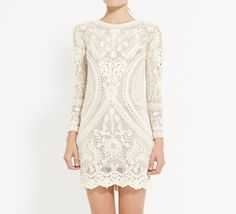 """Isabel Marant Ivory Dress 