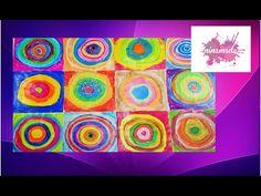 Cuadros de Kandinsky Para Niños de Infantil. Juega a buscar ... - YouTube