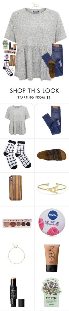 """""""in case no one told you today... you're smart, beautiful, and trying your best and everything will work out :))"""" by classyandsassyabby ❤ liked on Polyvore featuring Cheap Monday, Birkenstock, 100% Pure, Nivea, Rebecca Minkoff, NARS Cosmetics and TONYMOLY"""