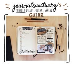 """journalsanctuary: """" Hey! I am really late with this, but I though that some of you might like to see how I make my monthly spreads. I did this sort of """"infographics"""" (??? am I even allowed to call this thing infographics??) and even though it looks..."""