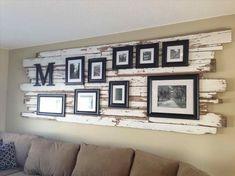 Amazing farmhouse wall decor for kitchen to add some rustic flair to your blank walls #farmhousewalldecor