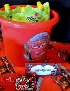 "Photo 1 of 16: Cars / Birthday ""Cars 2 Party"" 