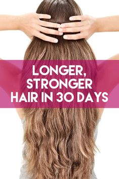 Check Out Rebecca Lynn's Latest Secret for Longer, Stronger Hair Here -> http://allfemalestyle.com/longer-stronger-is-now-possible-pinterest-exclusive-pin02/
