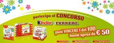 Concorso Kinder e Ferrero: vinci buoni spesa instant win - http://www.omaggiomania.com/concorsi-a-premi/concorso-kinder-ferrero-vinci-buoni-spesa-instant-win/