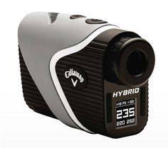 Callaway Golf's Hybrid Laser-GPS Range Finder  Callaway Golf's Hybrid GPS Rangefinder combines the accuracy of a laser finder with the added convenience of a GPS - all-in-one convenient device!