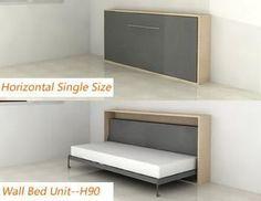 10 horizontal murphy bed ideas