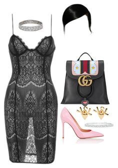 Out in Italy by nytown on Polyvore featuring polyvore fashion style Gianvito Rossi Gucci Yves Saint Laurent clothing