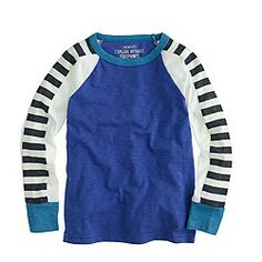 Boys' long-sleeve racer-stripe tee $32.50   STYLE GUIDE/ONLINE ONLY FREE SHIPPING                                          $32.50                          ...