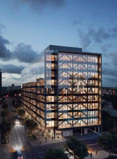 Tall timber: the world's tallest wooden office building to open in Brisbane - Architecture Office Building Architecture, Modern Architecture House, Building Exterior, Facade Architecture, Building Design, Classical Architecture, Minimalist Architecture, Chinese Architecture, Futuristic Architecture