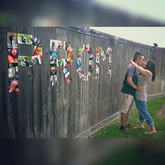 Now isn't this just picture perfect? | 22 Seriously Adorable Prom Proposals Impossible To Say No To