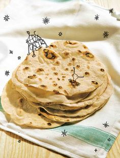 Flatbreads recipe from River Cottage Every Day by Hugh Fearnley-Whittingstall…