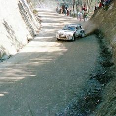 Rally Portugal 1985 Timo Salonen.  #wrc #wrcofficial #rally #rallye #peugeot #205t16 #groupbrally #sport #followme #car