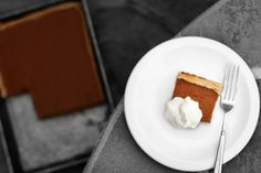 Rectangular Pumpkin Pie