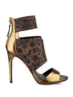 GUESS Women s Cayen Cutout Heels 8fb8bd0f7f246