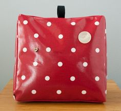 Oilcloth fabric doorstop by freshdarling on Etsy, $40.00