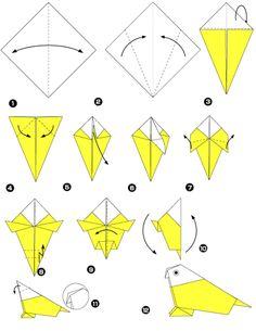 origami bird - Google-søgning