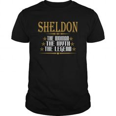 I Love  SHELDON THE WOMAN THE MYTH THE LEGEND T-SHIRTS Shirts & Tees